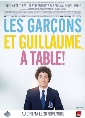 LES GARCONS GUILLAUME A TABLE