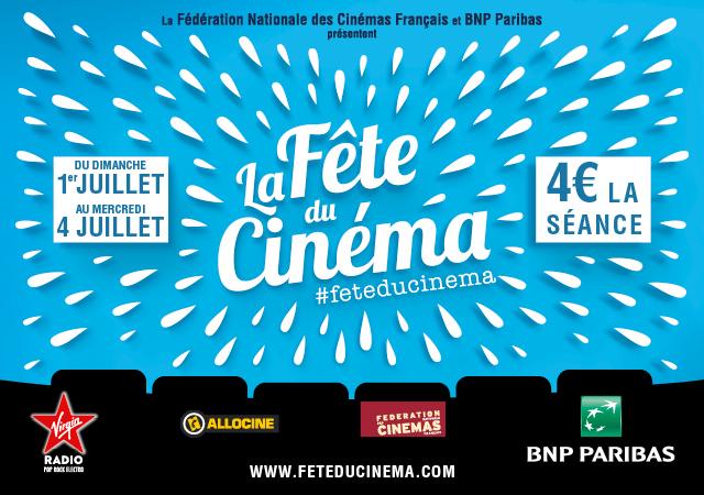 La Fête du Cinéma 2018 aura lieu au cinéma Prado