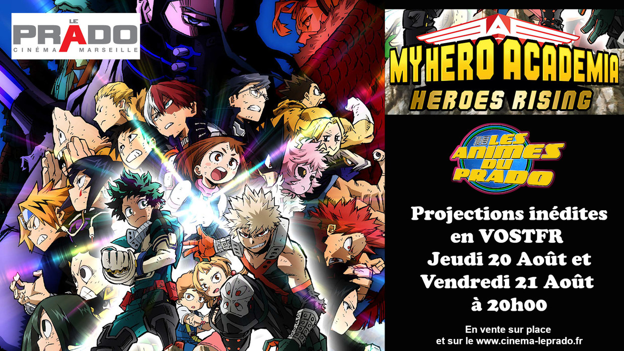 Photo du film My Hero Academia : Heroes Rising