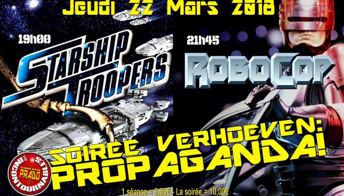 Photo du film SOIREE VERHOEVEN: STARSHIP TROOPERS/ROBOCOP